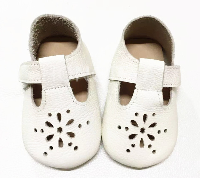 wholesale 10pairs/lot summer fretwork buckle strap genuine leather baby moccasins boys girls  kids shoes hard rubber sole