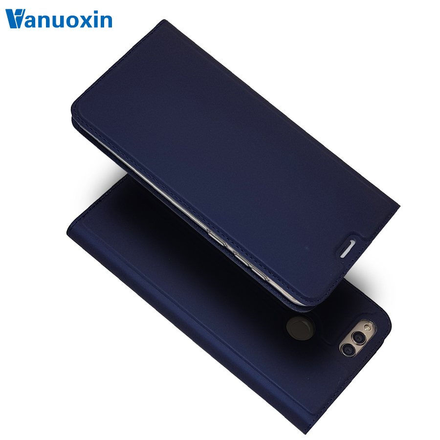 Leather <font><b>Case</b></font> on sFor Fundas Huawei <font><b>Honor</b></font> <font><b>7X</b></font> <font><b>case</b></font> cover Huawei <font><b>Honor</b></font> <font><b>7X</b></font> cover <font><b>case</b></font> Honor7X 7 X Coque Wallet <font><b>Flip</b></font> Cover Phone <font><b>Case</b></font> image