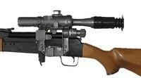 טקטי צבאי FFP ירי 4x24 SVD דרגונוב היקף רובה AK Fit 47 74 מואר אדום אקדח Sight לאיירסופט נדל & מותג חדש