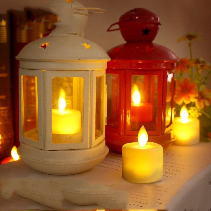 6 pieces dancing flame flameless velas de led ,realistic Battery luminaire ,romantic tea lights candele decorative