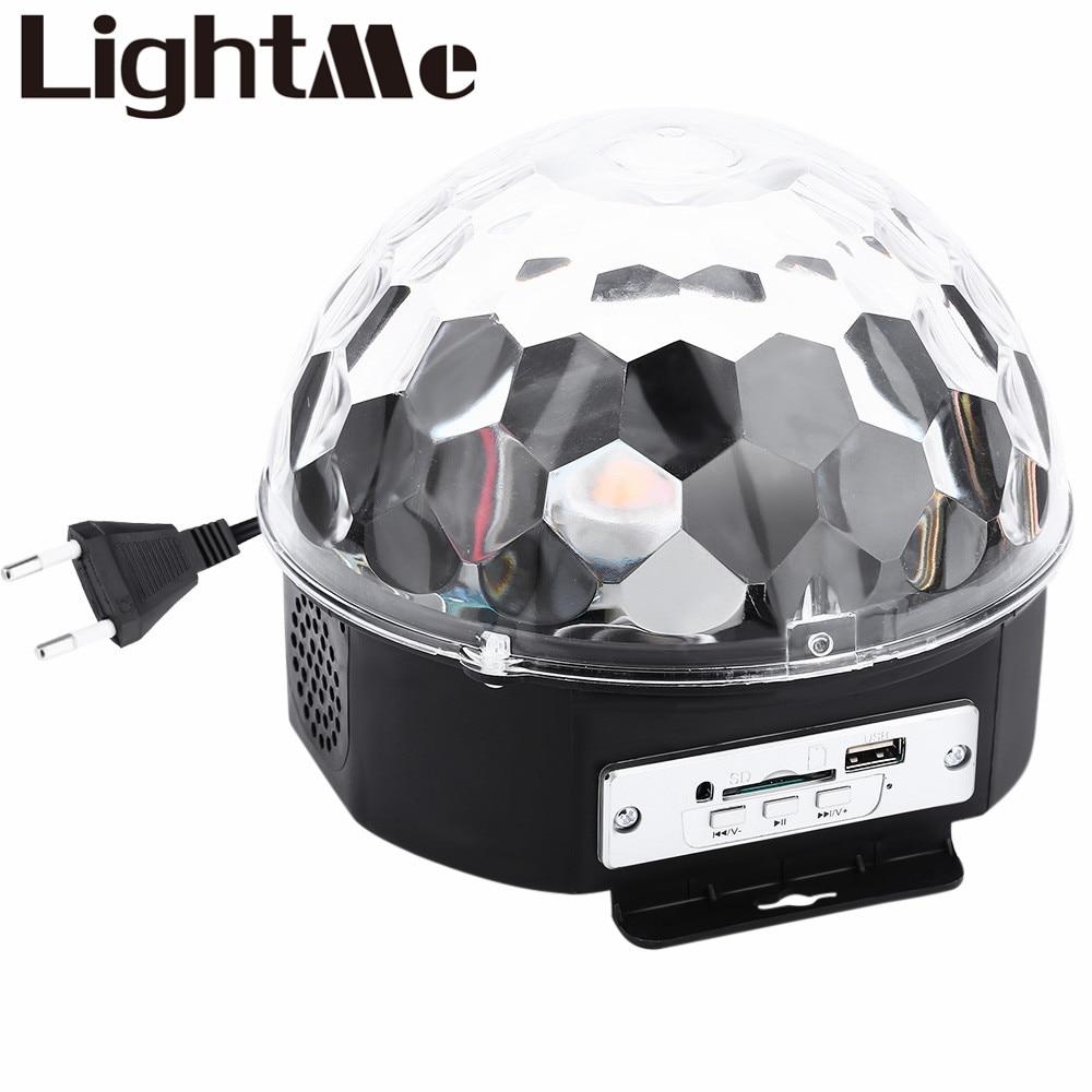 10 &#8211; 25W 6 <font><b>LEDs</b></font> RGB Premium Sound Control Stage Light RGB <font><b>LED</b></font> Magic Crystal Ball <font><b>Lamp</b></font> Disco Light Laser Wedding Party <font><b>Lamp</b></font>