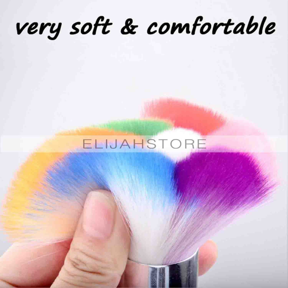 Nail Art Brush Cleaner: New High Quality Nail Art Dust Remover Brushes Rhinestone