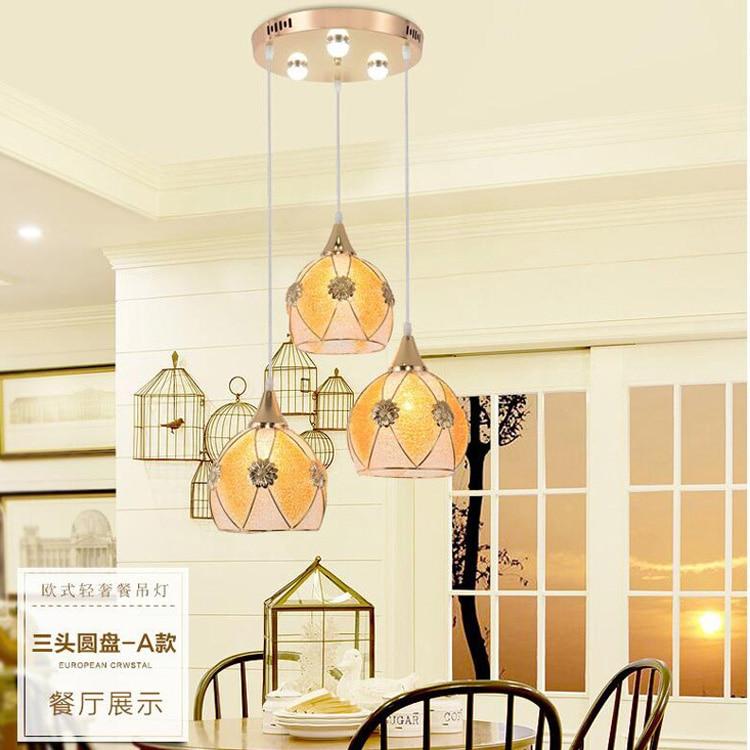 Lampes suspendues modernes en verre Loft lampe suspension pour Restaurant café librairie café salle à manger maison lampes suspendues