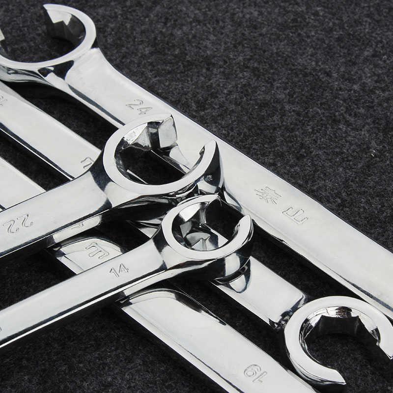 FLARE NUT spanner เบรคประแจสำหรับรถซ่อมเครื่องมือ Crow's-Foot spanner ชุด
