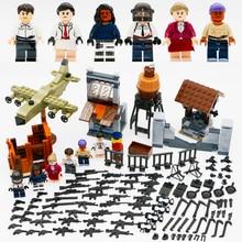 Вооруженные силы PUBG Рисунок Блоки блоков Оружие Оружие Армия Город Полиция Солдат Совместимость LegoINGlys Кирпич Игрушка для детей