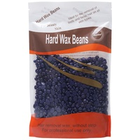 New Lavender Flavour Hard Wax Beans For Body Bikini Hair Removal 300g Pack Depilatory Wax Beans