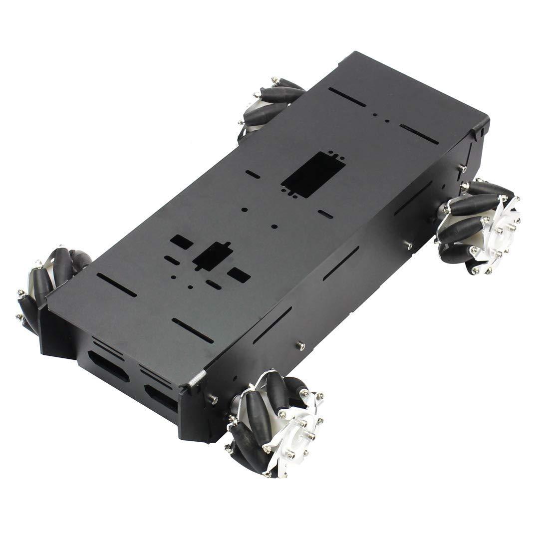 4WD RC châssis de voiture intelligente pour plate-forme Arduino avec moteur 12 V bricolage 4 roues Robot