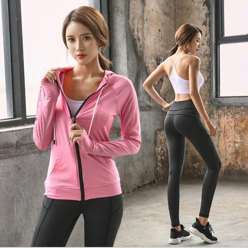 Nouveau 3 pièces costume femmes yoga ensemble survêtement pour femmes à capuchon séchage rapide ropa deportiva mujer fitness jogging Gym sport costume