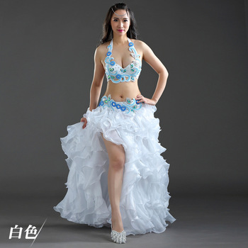Glamour Fashion Women's Belly Dance Set Belly Dance Performance Costume Belly Dance Performance Set Belly Dance Costume
