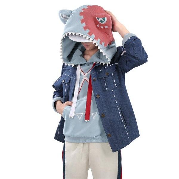 My Hero Academia Todoroki Shoto Cosplay Costume Cute Dinosaur Full Sets