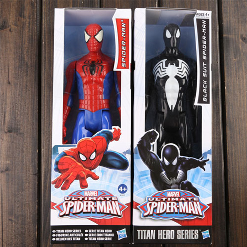 Spiderman Action Figure <font><b>Toy</b></font> 12inch / 30cm Super Hero <font><b>Spider</b></font> <font><b>Man</b></font> Figure Model Anime Brinquedos <font><b>Kids</b></font> <font><b>Toys</b></font> For Christmas Gift