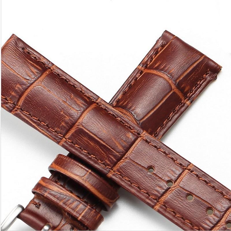 neway tartós bőr óra sáv heveder csukló karóra sáv karóra - Óra kiegészítők - Fénykép 4