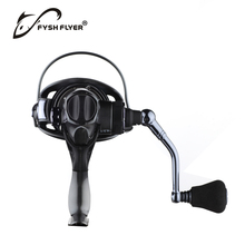 New Carp Fishing Spinning Reel, Two-Speed Gear Ratio, 10+1BB, 4.3:1/6.3:1,  Drag 17lb, Aluminum, Front and Rear Drag, CNC Handle