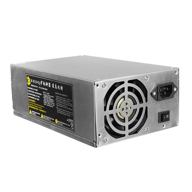 1800W Mining Power Supply For Eth Rig Ethereum Antminer Miner Machine S7 S9 High Quality computer power Supply For BTC
