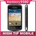 Разблокирована Оригинальный BlackBerry Curve 9380 5.0MP Камера 3.2 дюймов Сенсорный Экран GPS WI-FI Quad band Восстановленное телефон 1 год гарантии
