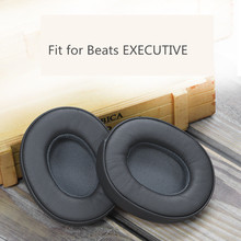 1 Pair Replacement Soft Foam Ear Pads Cushions for Beats EXECUTIVE Headphones high quality 11.1 1 pair 70mm 45 110mm replacement so soft foam ear pads cushions for sony for akg for beyerdynamic headphones high quality 1 15