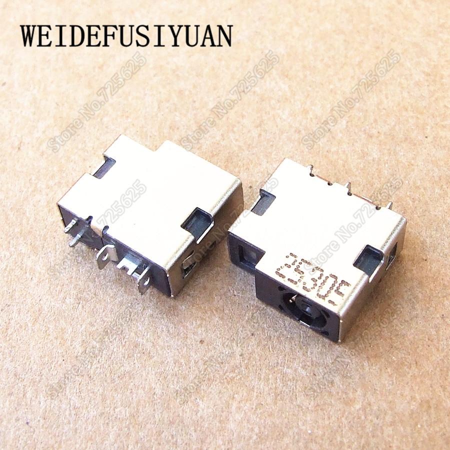 5 sztuk/partia zasilania prądem przemiennym AC łącze typu jack ładowania Gniazdo portu dla HP ENVY 14 ENVY 15 DC wtyczka zasilania złącze