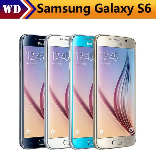 """bilder für Samsung Galaxy S6/s6 rand Ursprünglicher Freigesetzter 4G GSM Android Handy G925F Octa-core 5,1 """"16MP 3 GB RAM 32 GB ROM"""