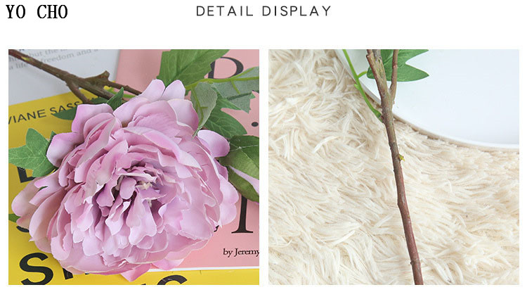 Chinese national flower peonies  simulation big peony flowers for home, living room, bedroom, party,wedding,hotel,shopwindow  decoration arranging flower accessories for christmas new year Halloween Thanksgiving Anniversari