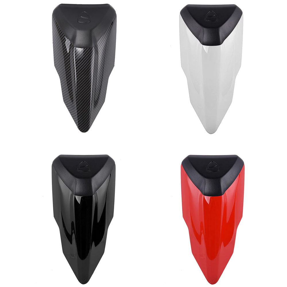 Motorcycle ABS PlasticRear Pillion Passenger Hard Seat Cowl Cover Section Fairing For 2015-2018 Ducati 1299 Panigale 2016 2017