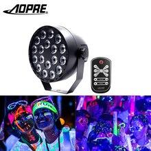 УФ диско шар свет мини светодиодные фонари для вечеринки сценическое освещение эффект DJ УФ лампы с DMX 512 стробоскоп режим для Dj бар дома вечерние KTV