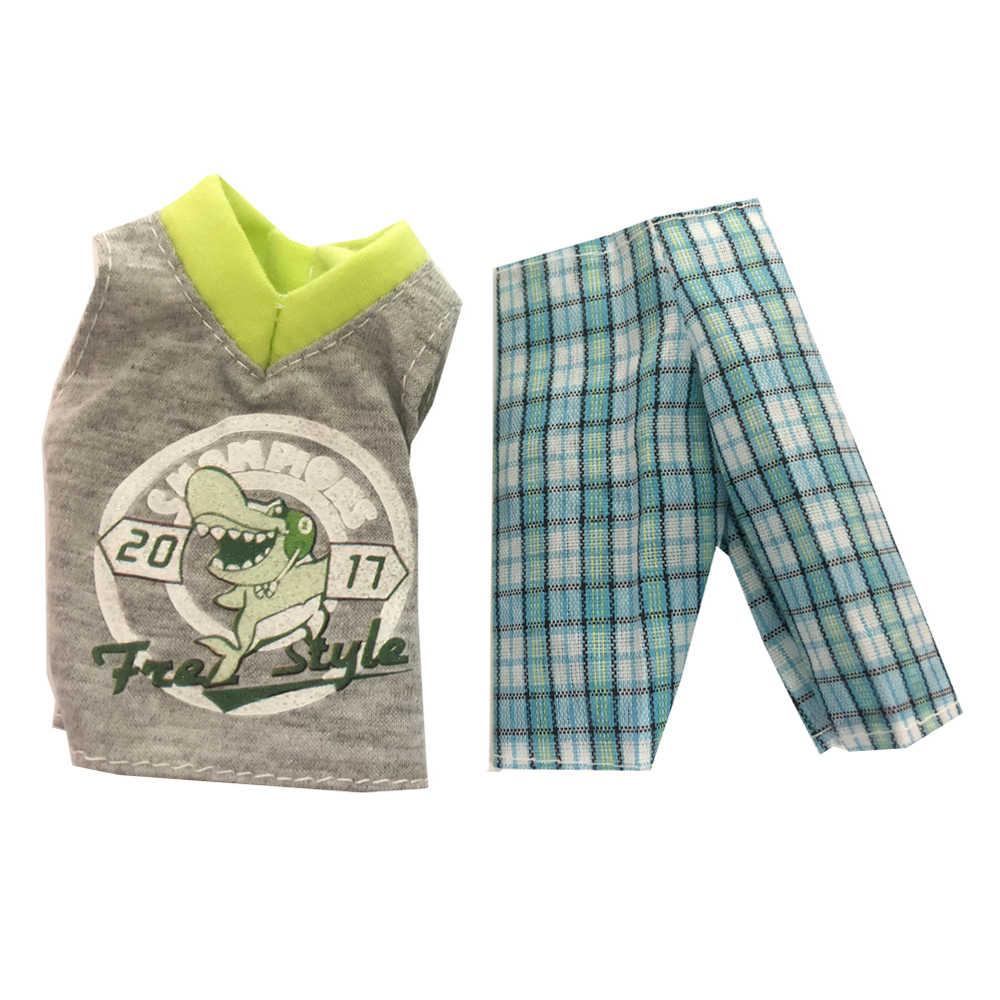NK один комплект принц Кен Кукла одежда Модный Костюм классный наряд для Кен Кукла Аксессуары Лучший подарок на день рождения для детей 19A