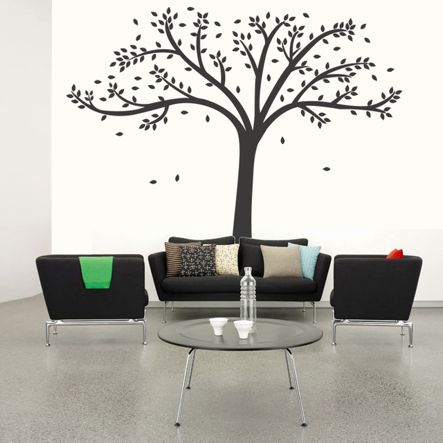 Tree Wall Sticker For Office,Forest Wall Stickers For Living Room,Nature  Home Stickers