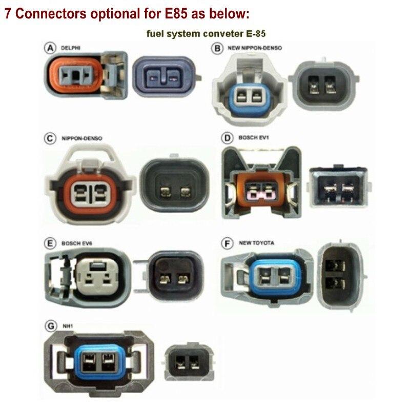 Repuestos para 4cyl E85 kits de conversión de conectores para E85 kit de conector reemplazo E85 M85 piezas de repuesto - 2
