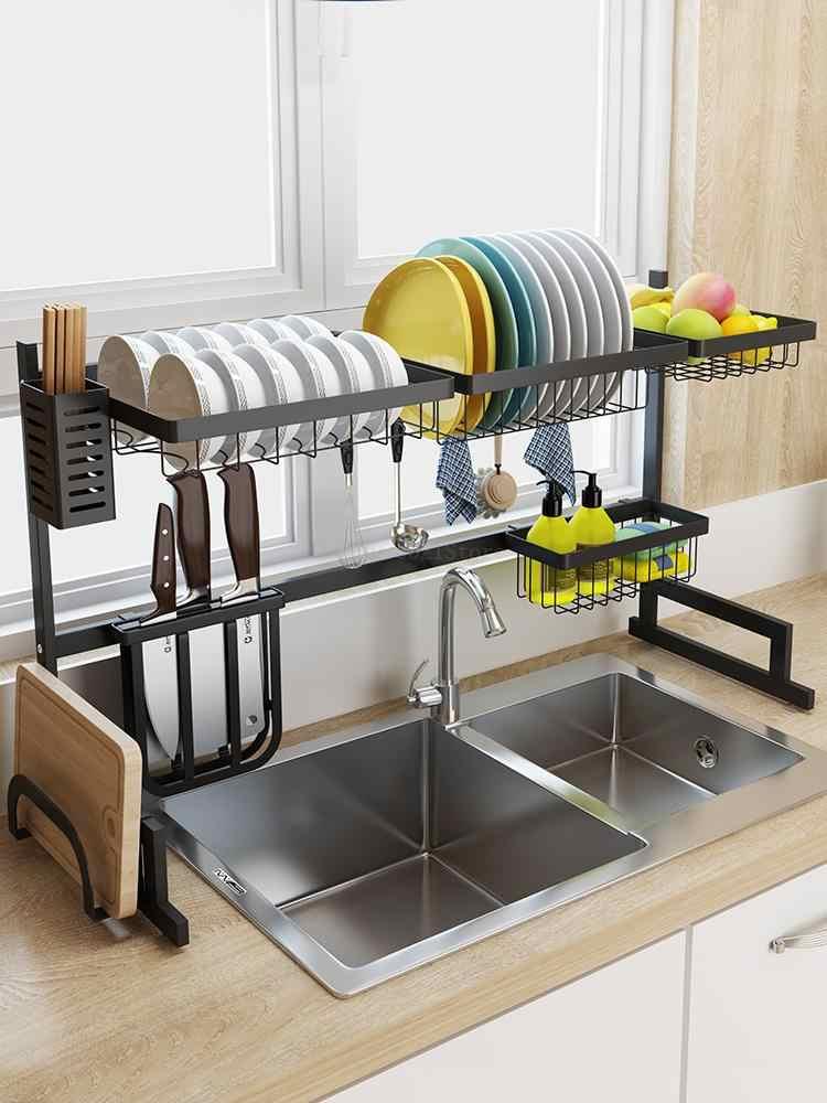 Kitchen Rack Sink Dish Drain