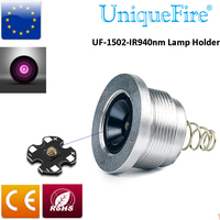 Uniquefire Replaceable Drop In IR 940nm LED Pill 1502 940nm Lamp Holder 3 Modes Driver Module For UF 1502 Flashlight