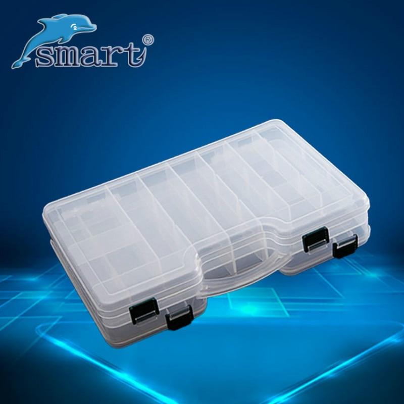 Hohe Qualität Doppelseitige Tragbare Kunststoff Angeln Box 29 * 19 * - Angeln - Foto 1