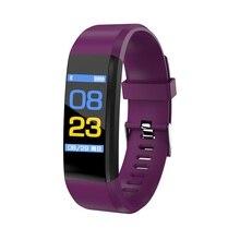 EnohpLX 115 плюс мужские Smart Band цветной экран браслет дистанционного Управление браслет Фитнес жизнь водонепроницаемый
