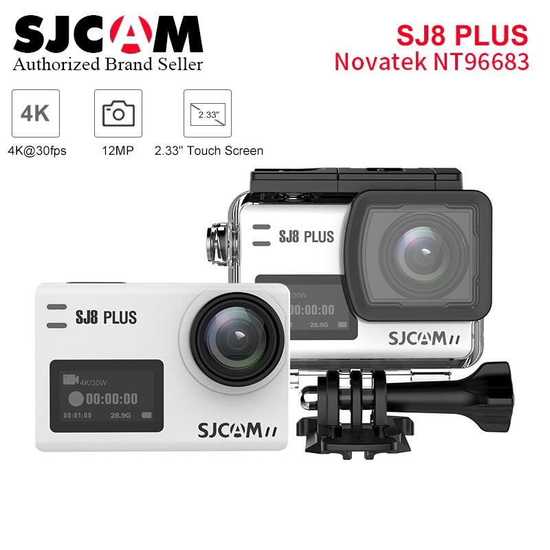 SJCAM SJ8 plus caméra d'action wifi 12MP écran tactile télécommande étanche Sport DV camara deportiva pk SJ8 PRO yi 4 k eken h9