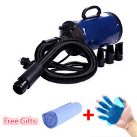 Cheap Dog Grooming Dryer bs2400 Pet Hair Blower 220v/110v 2400w Eu Plug Pink Blue Color fast to russian
