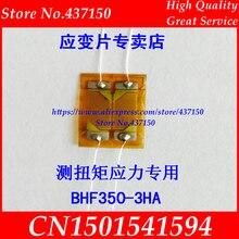 BHF350 3HA 350 أوم ؛ BHF1000 3HA 1000ohm عالية الدقة نصف جسر سلالة غيج/القص الإجهاد عزم الدوران سلالة مقياس