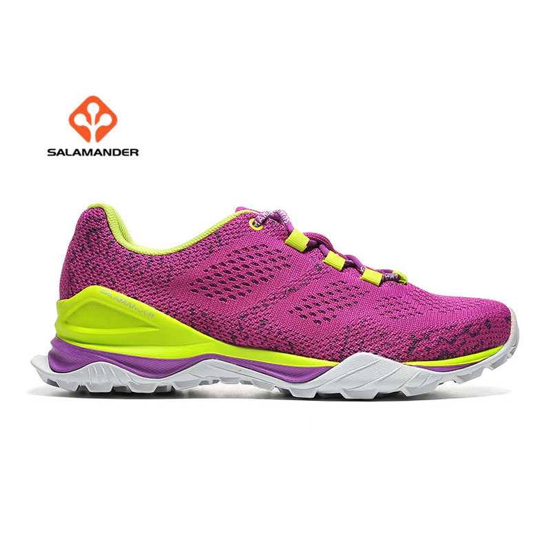 SALAMANDER Women's Mesh Outdoor Hiking Trekking Sneakers Shoes For Women Sports Climbing Mountain Shoes Sneaker Woman купить