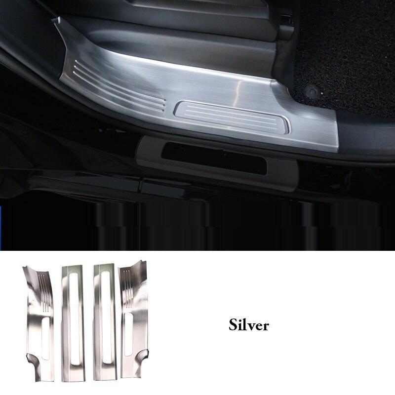 Adapté pour 2015-2018 modèle pour Volvo XC90 modifié seuil seuil pour Volvo xc90 accessoires décoratifs en acier inoxydable pédale