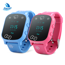 New Colors OLED Screen,T58 Smart GPS WIFI Tracker Locator Anti-Lost SOS Remote Monitor Watch for Kids Child Student Wristwatch