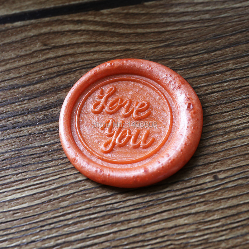 Love you wax seal stamp,