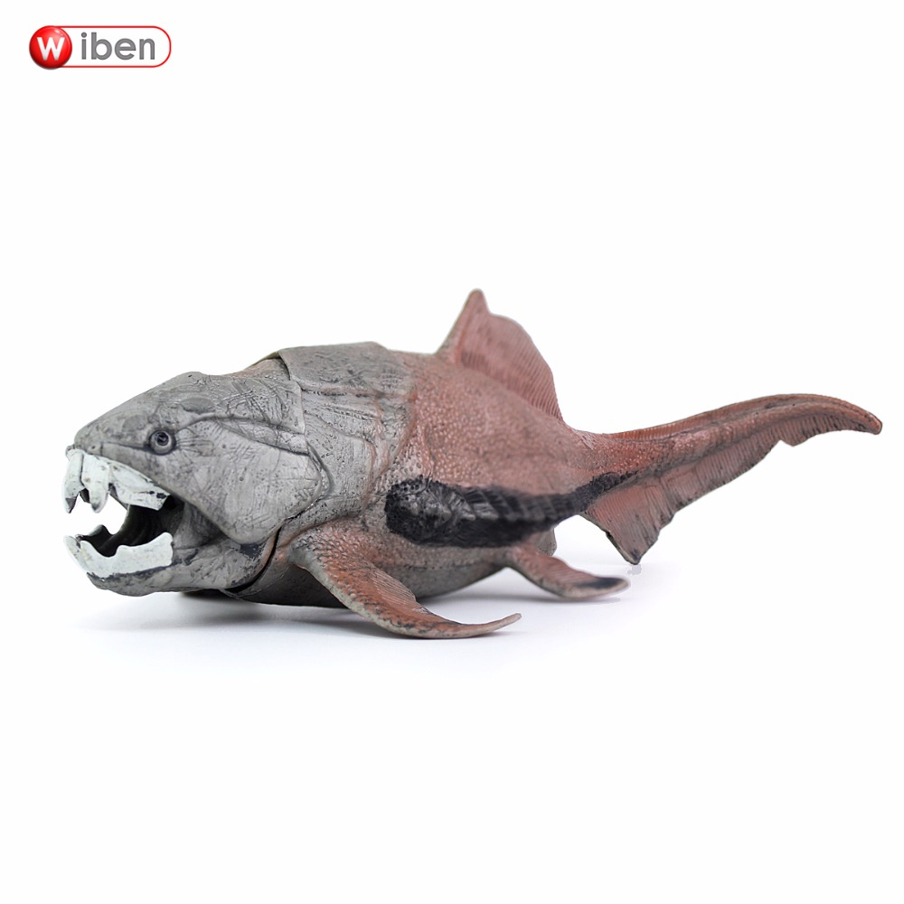 Wiben Dunkleosteus Sea Life Dinosaur Toys Animal Model Collectible Model Toy Learning & Educational Boy Gift hot toys great white shark simulation model marine animals sea animal kids gift educational props carcharodon carcharias jaws