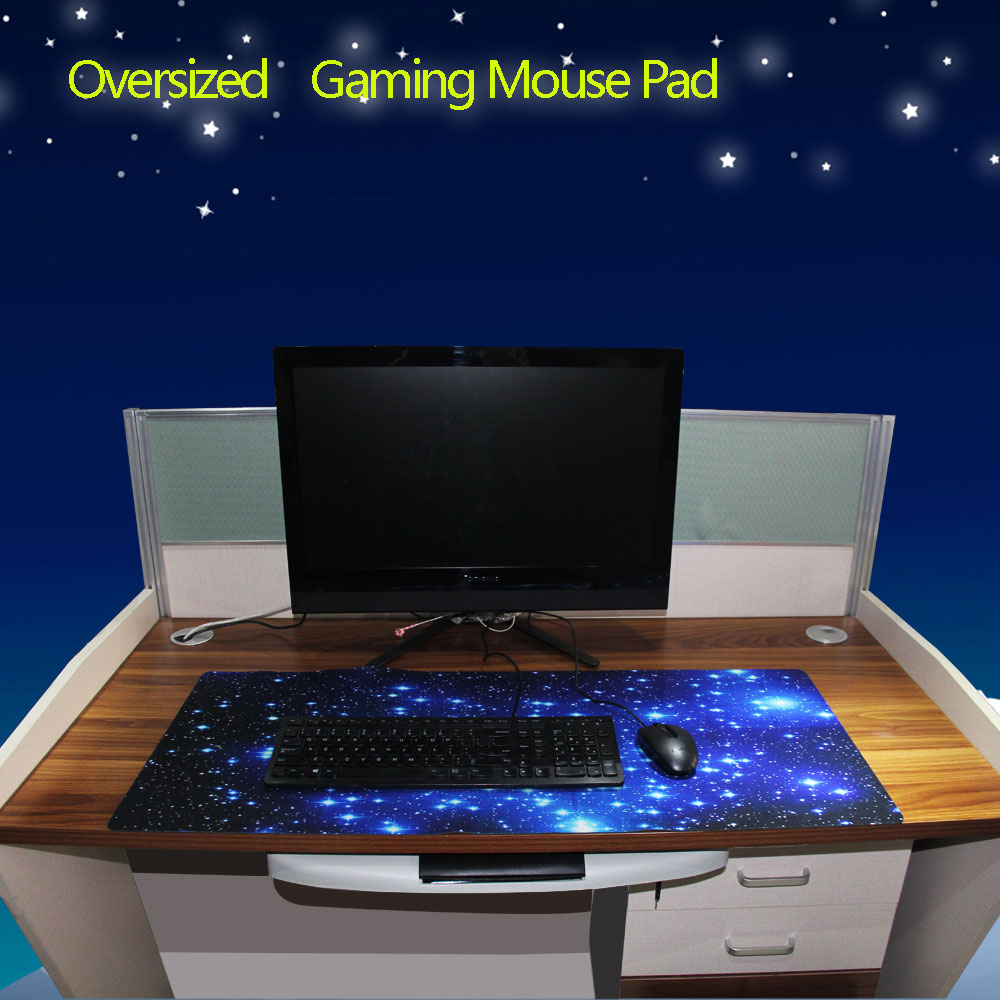 Anti-slip Large Gaming Mouse pad Keyboard Desk Mat Laptop Computer PC Mousepad