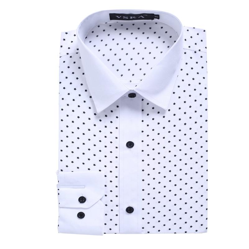 Novo 2018 moška majica majica Casual moška majica slim fit srajco - Moška oblačila - Fotografija 5