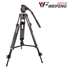 Weifeng WF-717 1.8M Professional  Video Cameras Tripods With Hydraulic fluid Head For DV Recorder camcorder