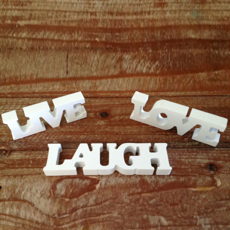 Decorative Wood Wall Hanging Sign Plaque Bless Our Home With Love And Laughter Off