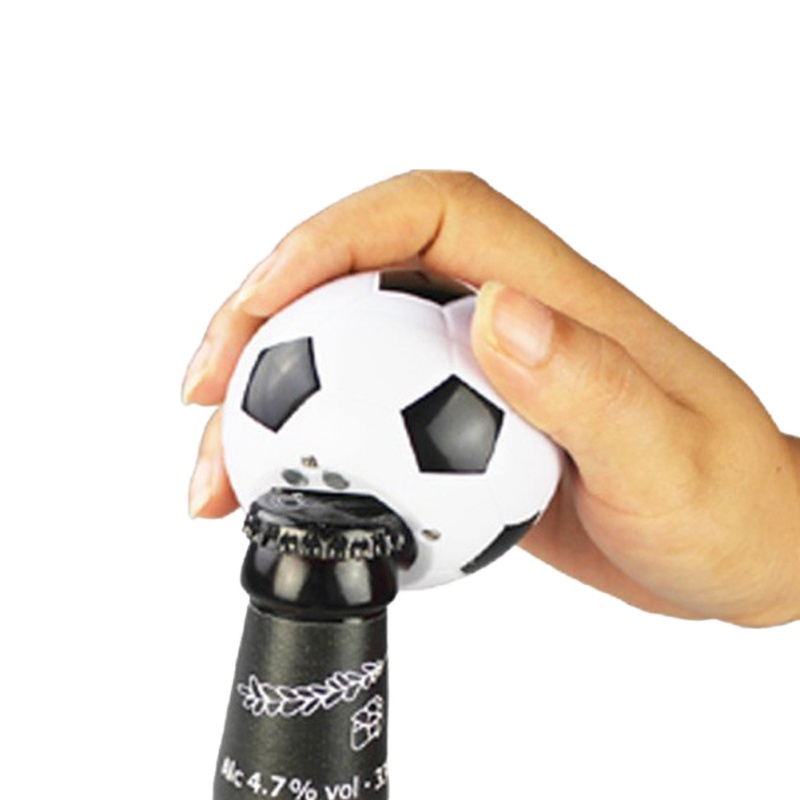 Magnetic Basketball Football Automatic Bottle Opener Music Ornaments Adsorbable Ornaments Kitchen Tools Gadgets Kitchen Gadgets