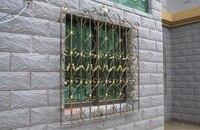 Ferforje çelik cam pencere, metal cam pencere ferforje windowswindow demir pencere ızgara tasarımı hc-w2