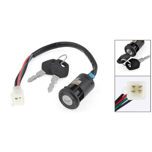 TOYL Key Switch Scooter ATV Moped Go Kart Electric Motorcycle Bike Lock for CG125