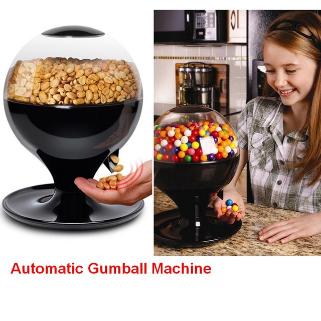 free shipping wedding candy dispenser automatic sensor plastic
