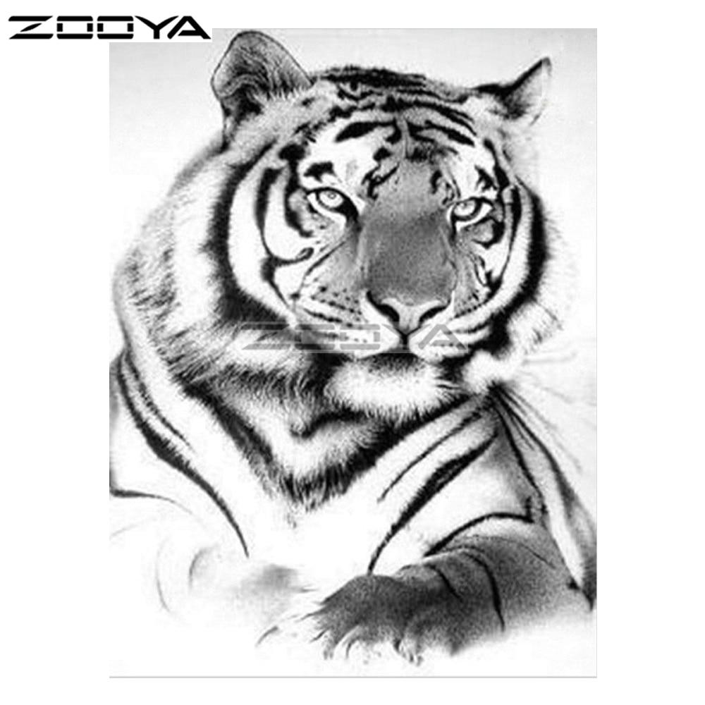 900 Gambar Harimau Hitam Dan Putih Hd Paling Keren Infobaru