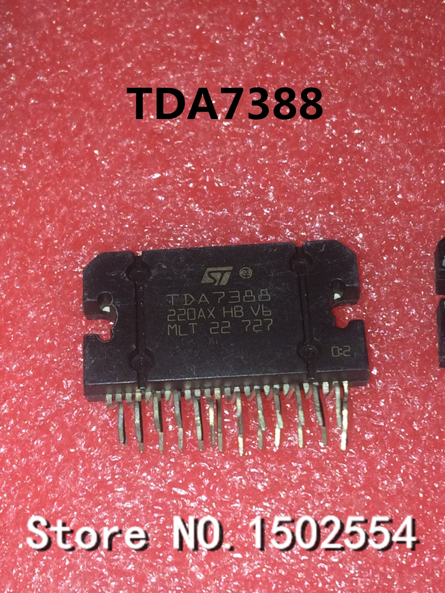 Yd7388 Car Audio Amplifier Ic Mute Short Circuit Protection In Stock 4 X 55w Power By Tda7560 Tda7388 Zip 25 Chip Four Channel Output